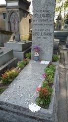 La tomba di Apollinaire