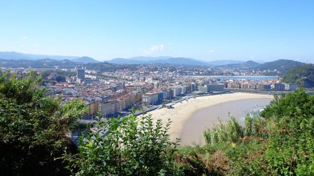 2 Settembre: Pasajes San Juan/Donostia (St. Sebastian) - vista su St. Sebastian